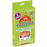 """Занимательные карточки """"Английский язык: Толстый кот (Fat Cat)"""" Level 5, Клементьева Т."""