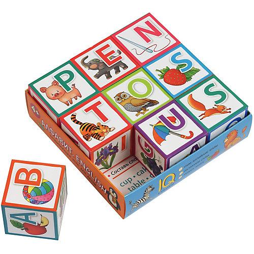 "IQ Кубики ""Алфавит. English"" от АЙРИС-пресс"