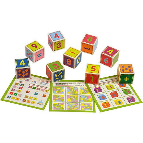 """IQ Кубики """"Раз, два, три, четыре, пять"""" от АЙРИС-пресс"""