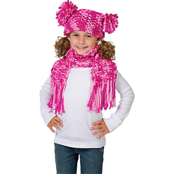 Набор для вязания шапки и шарфа Alex