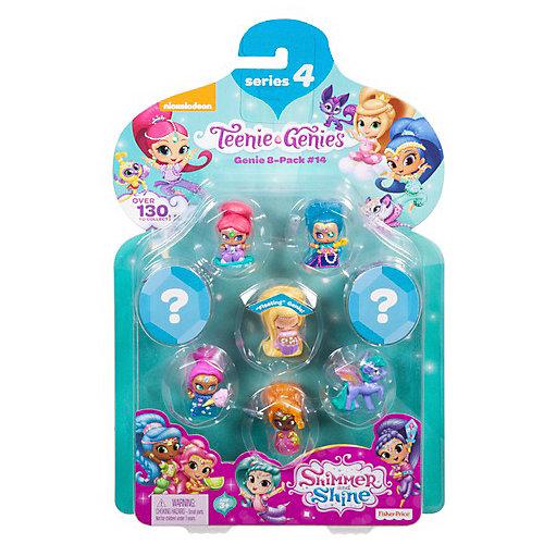 """Набор фигурок Fisher-Price Shimmer&Shine """"Тини Джинники"""" Набор № 14, 8 шт от Mattel"""
