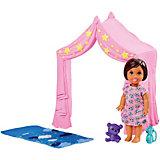 """Игровой набор с мини-куклой Barbie """"Скиппер няня"""" Игра с малышом"""