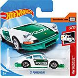 Базовая машинка Hot Wheels 71 Porche 911
