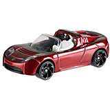 Базовая машинка Hot Wheels Tesla Roadster With Starman