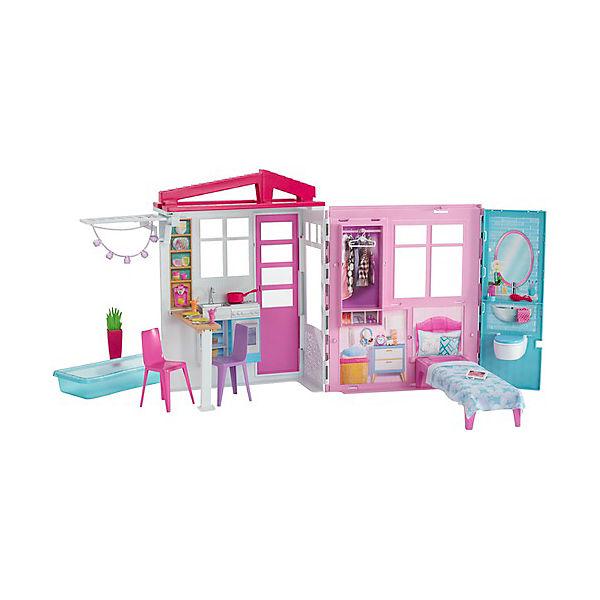 Раскладной домик Barbie с аксессуарами