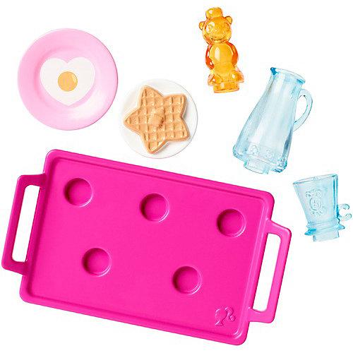 """Аксессуары для дома Barbie """"Мини-набор"""" Завтрак на подносе от Mattel"""