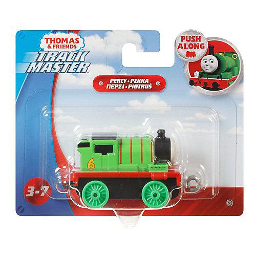 Инерционные маленькие металлические  паровозики от Mattel
