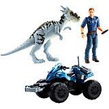 Игровой набор Jurassic World Story Pack Внедорожный трекер ATV