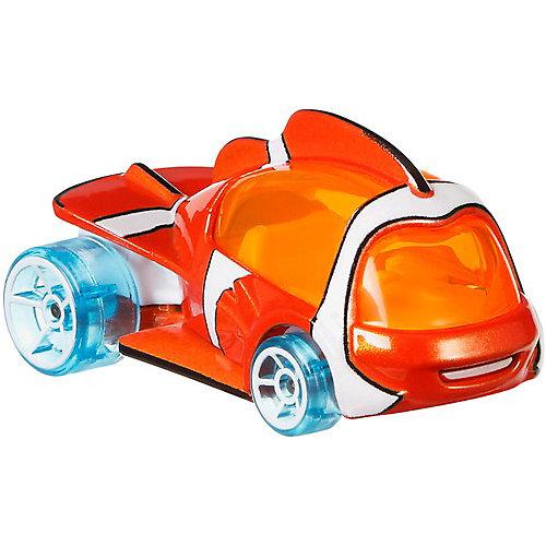 Премиальная машинка Hot Wheels Персонажи Disney, Немо от Mattel