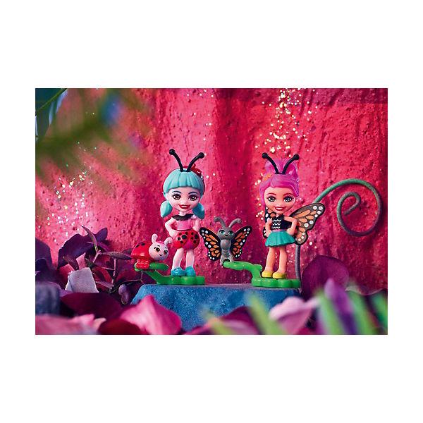 """Игровой набор Enchantimals """"Парк лепестков"""" Бакси Бабочка и Ладелиа Божья Коровка"""