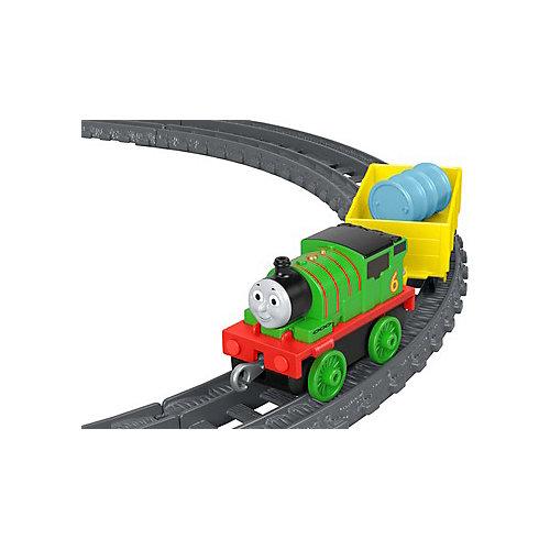 Железная дорога Fisher-Price Thomas and Friends Track Master Перси доставляет груз от Mattel