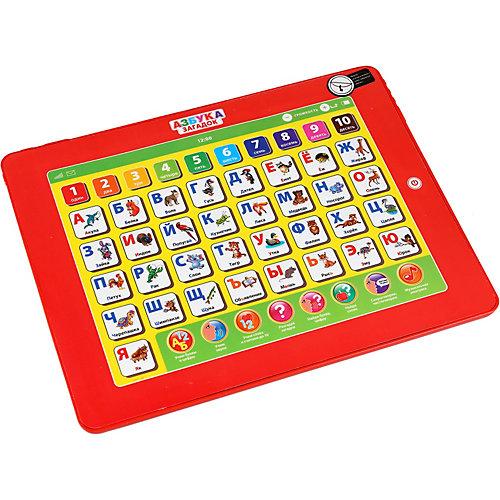 Сенсорный планшет Умка «Азбука Загадок», 50 загадок, 8 программ от Умка
