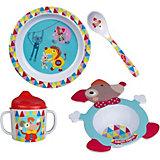 """Набор посуды Ebulobo """"Волшебный цирк"""", 4 предмета"""