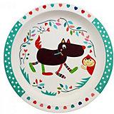 "Бамбуковая тарелка Ebulobo ""Волчонок"""