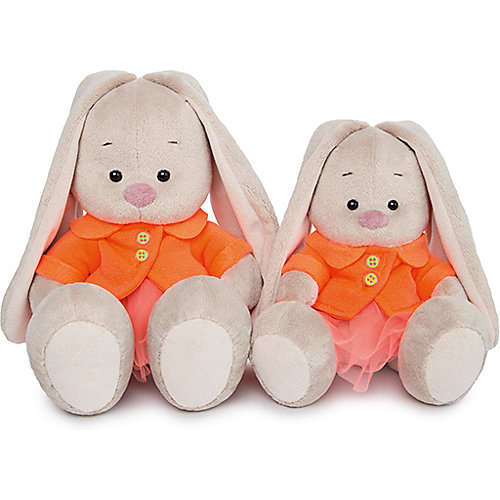 Мягкая игрушка Budi Basa Зайка Ми в оранжевой куртке и юбке, 18 см от Budi Basa