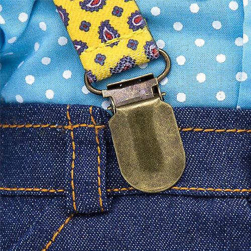 Мягкая игрушка Budi Basa Кот Басик в джинсах с подтяжками, 25 см от Budi Basa
