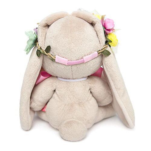 Мягкая игрушка Budi Basa Зайка Ми в веночке и с бантиком, 18 см от Budi Basa