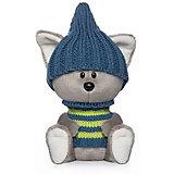Мягкая игрушка Budi Basa лЕсята Волчонок Вока в шапочке и свитере, 15 см