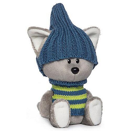 Мягкая игрушка Budi Basa лЕсята Волчонок Вока в шапочке и свитере, 15 см от Budi Basa