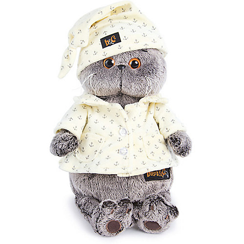 Мягкая игрушка Budi Basa Кот Басик в пижаме, 25 см от Budi Basa