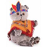 Мягкая игрушка Budi Basa Кот Басик в костюме индейца, 25 см