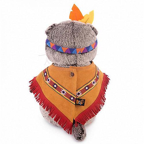 Мягкая игрушка Budi Basa Кот Басик в костюме индейца, 25 см от Budi Basa