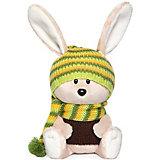 Мягкая игрушка Budi Basa лЕсята Заяц Антоша в шапочке и свитере, 15 см