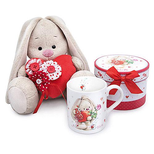 Мягкая игрушка Budi Basa Зайка Ми с красным сердечком, 23 см от Budi Basa