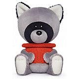 Мягкая игрушка Budi Basa лЕсята Енот Лёка в свитере, 15 см