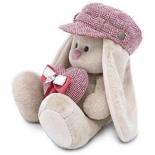 Мягкая игрушка Budi Basa Зайка Ми в кепке и с сердцем, 23 см от Budi Basa