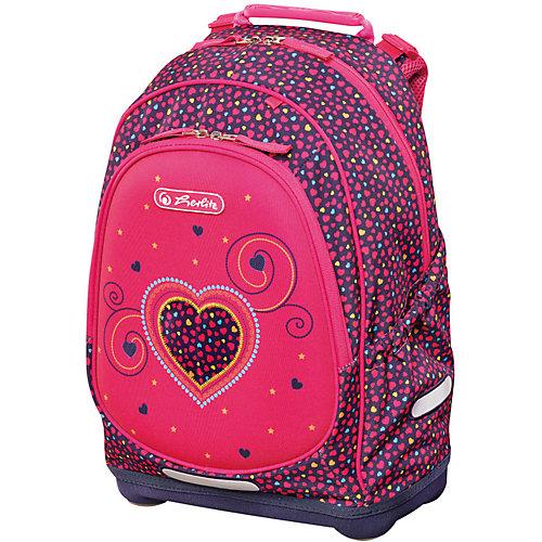 Рюкзак Herlitz Bliss, Pink Hearts - розовый от herlitz