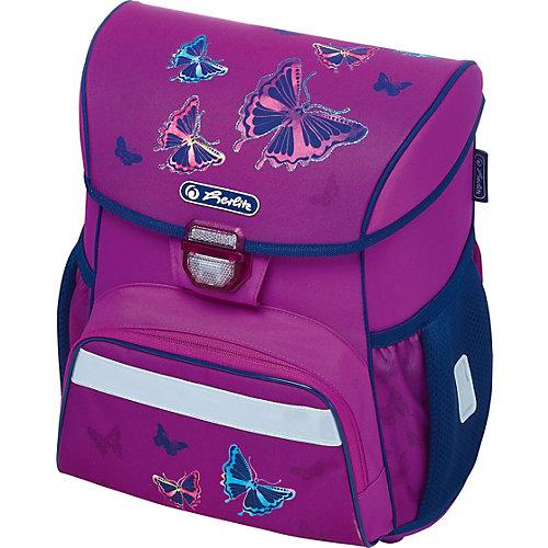 Ранец Herlitz Loop, Glitter Butterfly - фиолетовый от herlitz