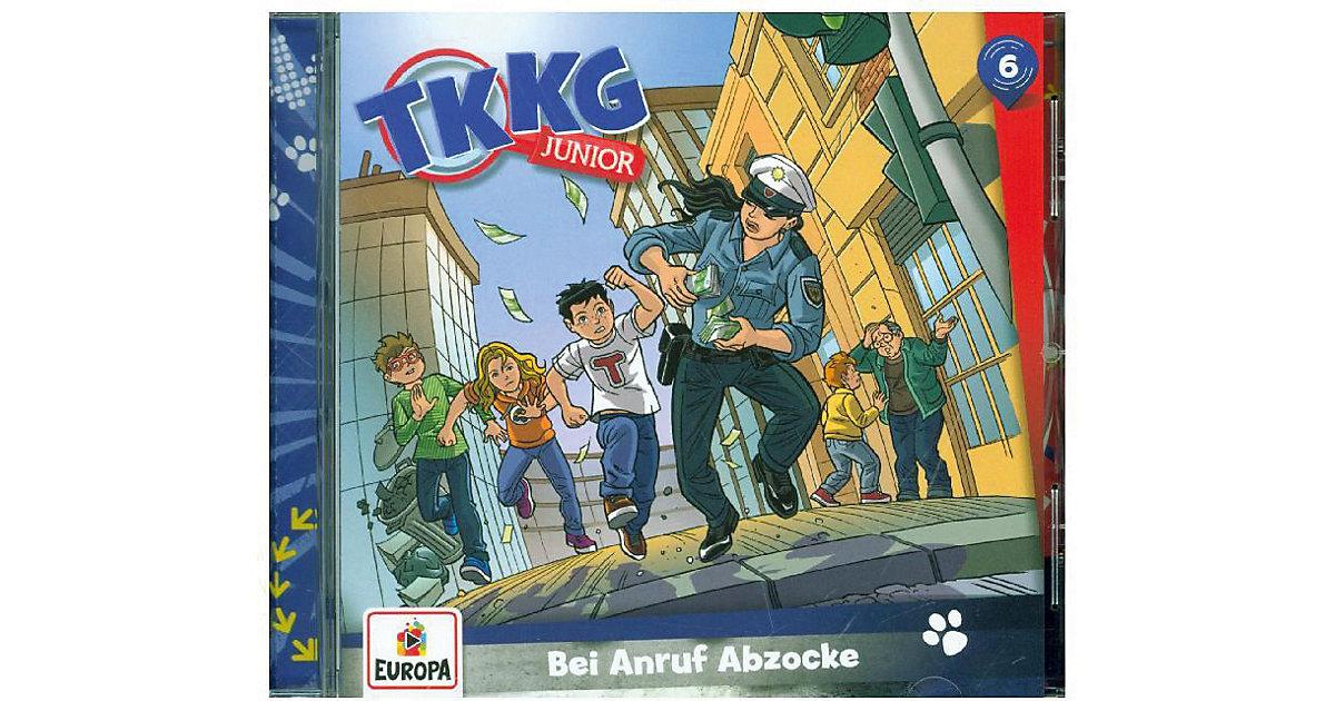 TKKG Junior 06/ Bei Anruf Abzocke, 1 Audio-CD Hörbuch
