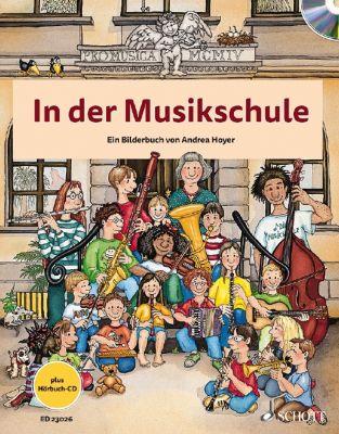 Buch - In der Musikschule, mit Audio-CD