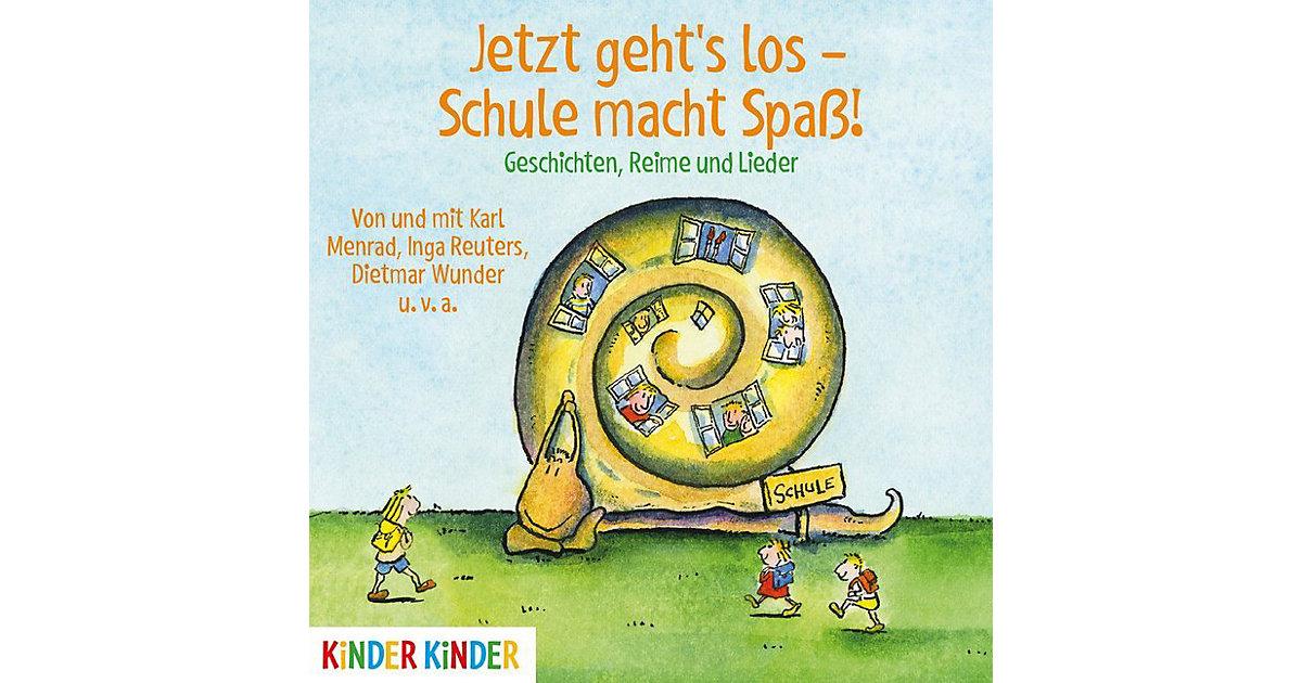 Jetzt geht's los: Schule macht Spaß!, 1 Audio-CD Hörbuch