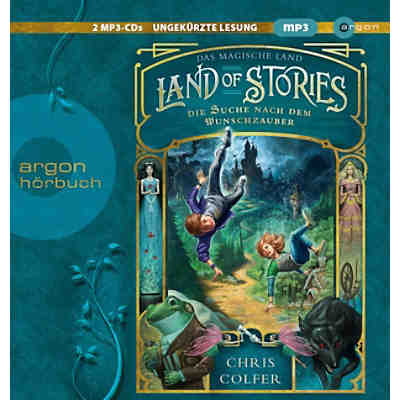 Land of Stories: Das magische Land, 2 MP3-CDs