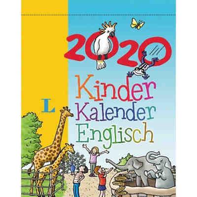 Calendrier Avent Kinder 2020.Langenscheidt Kinderkalender Englisch 2020 Karen Richardson
