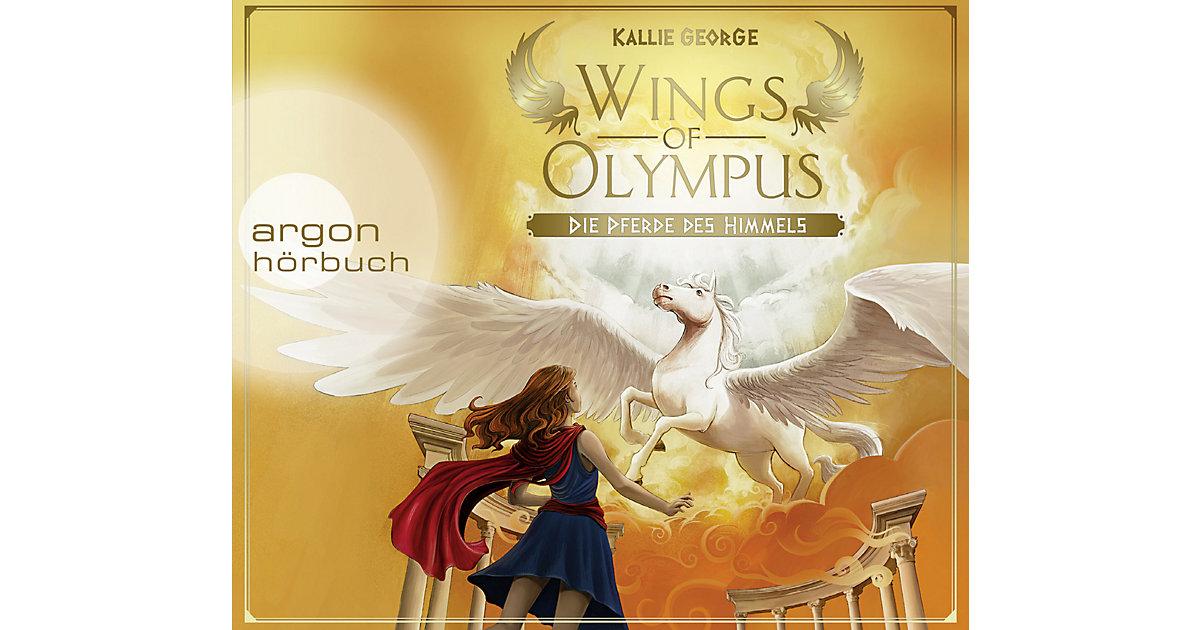 Wings of Olympus: Die Pferde des Himmels, 4 Audio-CDs Hörbuch