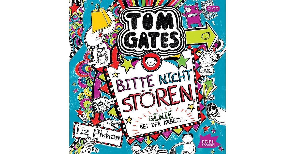 Tom Gates: Bitte nicht stören, Genie bei der Arbeit, 2 Audio-CDs Hörbuch
