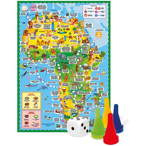 """Настольная игра Геодом """"Вокруг света"""" Африка от ГеоДом"""