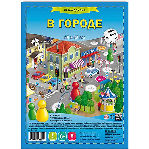 """Настольная игра Геодом """"В городе"""" от ГеоДом"""
