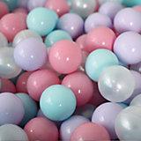 Шарики для сухого бассейна Romana Airpool,150 шт (розовый, мятный, жемчужный, сиреневый)