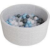 Сухой бассейн Romana Airpool, серый + 150 шариков