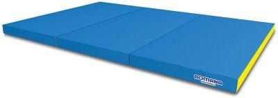 Мягкий щит Romana Kid в 3 сложения, 1,5 метра, голубой/желтый