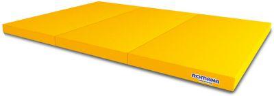 Мягкий щит Romana Kid в 3 сложения, 1,5 метра, желтый