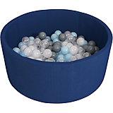 Сухой бассейн Romana Airpool, темно-синий + 150 шариков