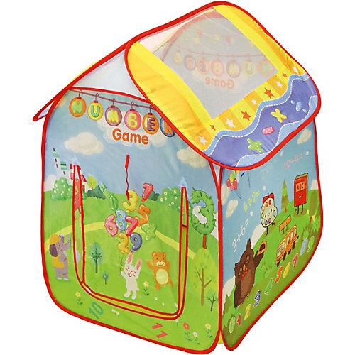 """Палатка Наша Игрушка """"Учимся считать"""",  74*74*98см от Наша Игрушка"""