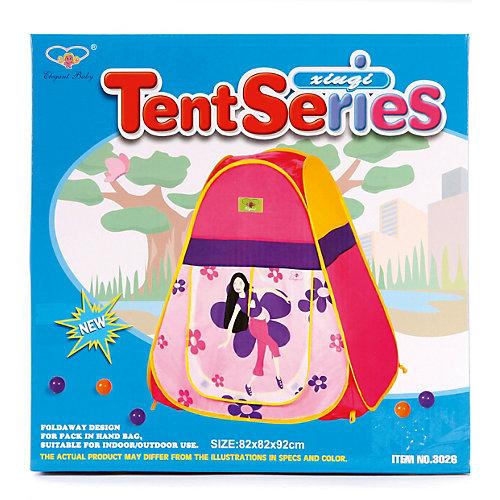 "Палатка Наша Игрушка ""Танец цветов"", 82х82х92 см от Наша Игрушка"