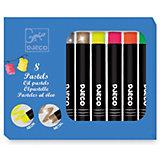 Набор пастельных карандашей DJECO, 8 ярких цветов