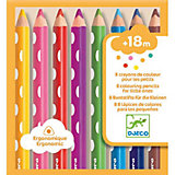 Набор карандашей DJECO, 8 штук